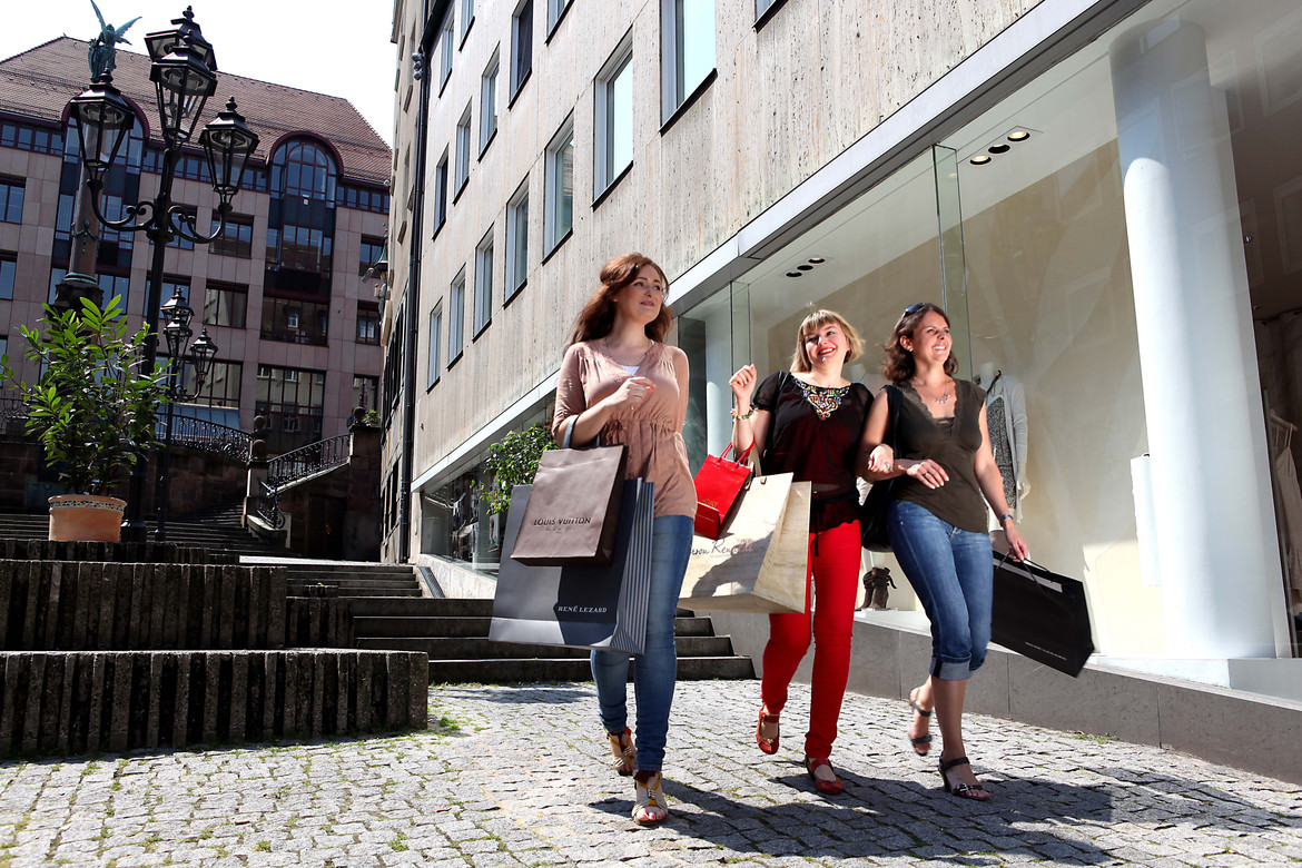 Shopping in Nürnberg