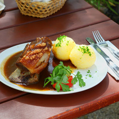 Franconian pork shoulder