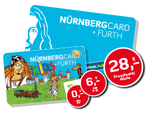 Nurnberg Card Touristenkarte City
