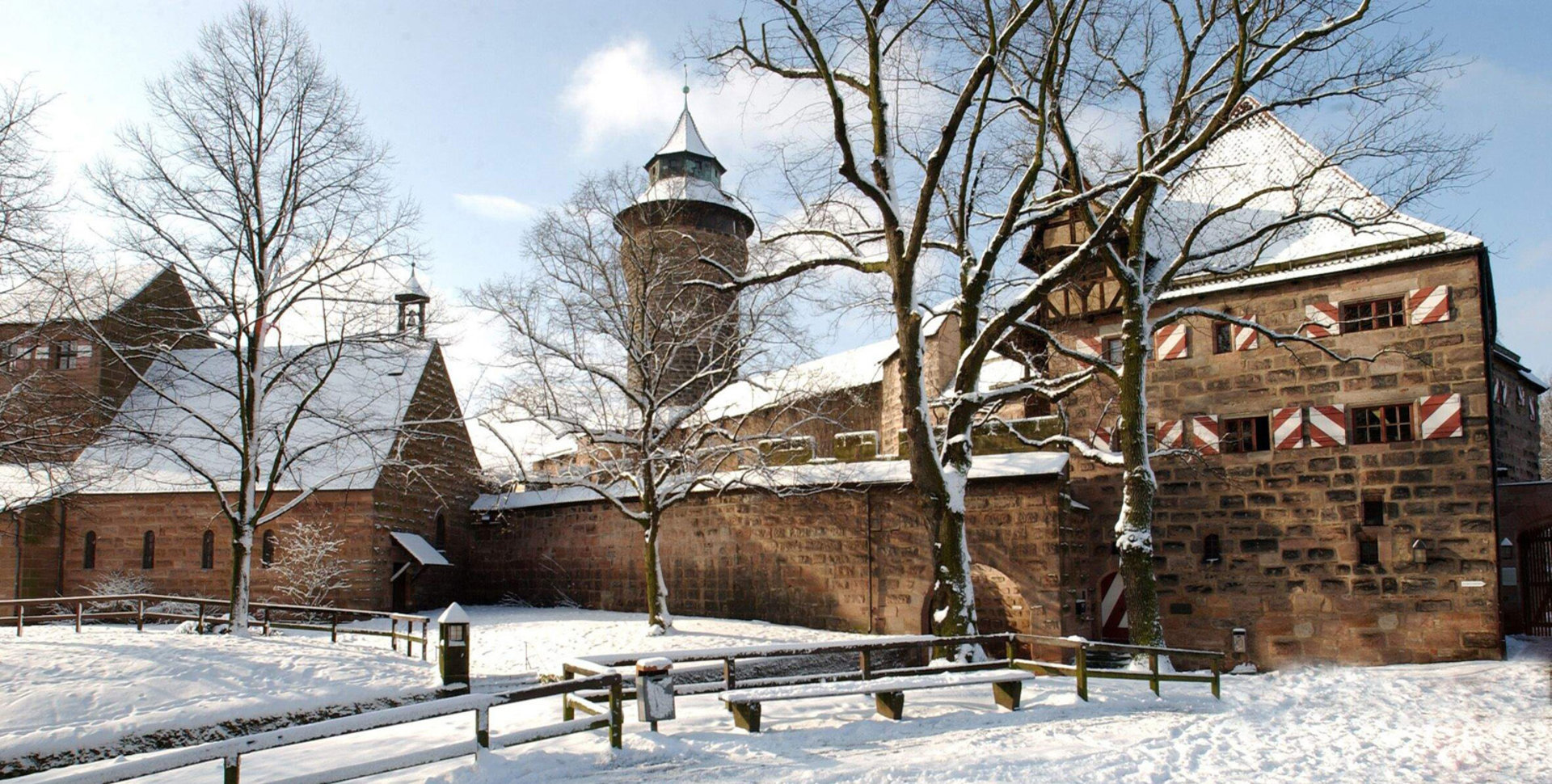 Home: Kaiserburg Nürnberg im Winter