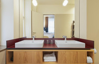 Melter Hotel & Apartments - Bad Doppelzimmer / Apartment