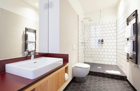 Melter Hotel & Apartments - Bett Doppelzimmer / Apartment